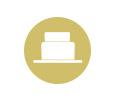 An icon of a wedding Cake