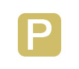 An icon for parking